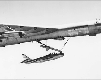 24x36 Poster . Republic F-84 Thunderjet And B-36 Peacemaker