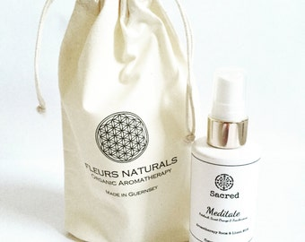 Meditate- 100ml Aromatherapy Room and Linen mist