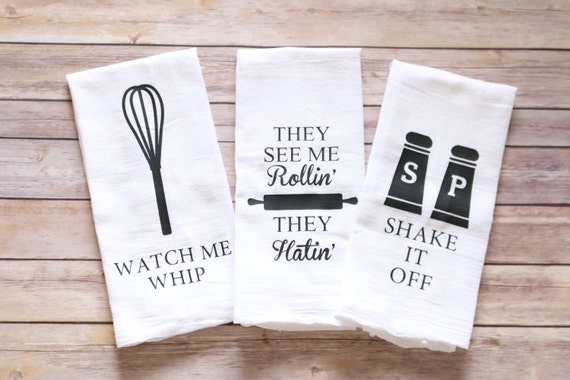 Funny song lyric tea towels kitchen towels song by for Kitchen set video song