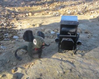 Mr.Dapper Mouse..... feltie/softie stuffed animal/