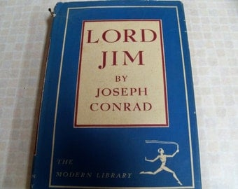 1921 Lord Jim by Joseph Conrad 186 The Modern Library Random House