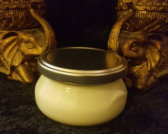 SOY wax candle scented with lavender chamomile and beach linen