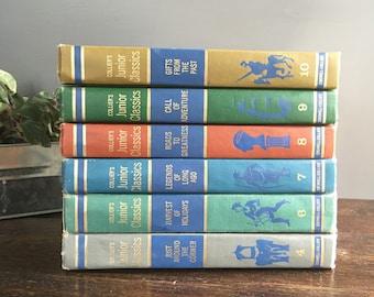 Collier's Junior Classics 1962 Young Folks Shelf of Books