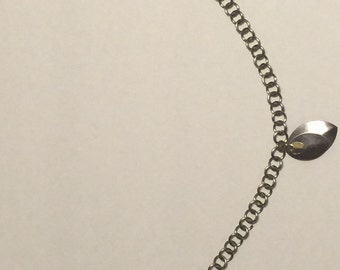 Stainless Steel chain w/ Scale pendant