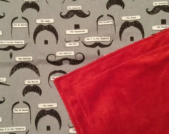 Mo inspired Pram Blanket