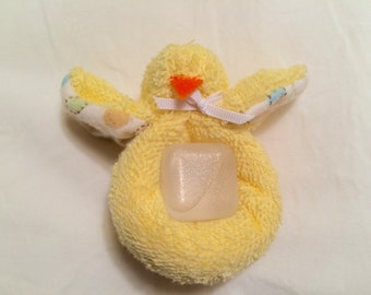 Boo Boo Chicky (Hand Sewn) with Reusable Ice Cube