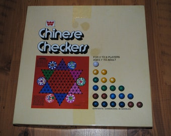 Chinese Checkers - Whitman - Board Game - 1974