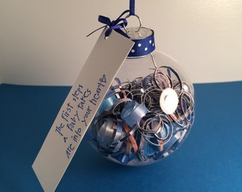 personalized Christmas ornament - wedding invitation, birth announcement... you decide!
