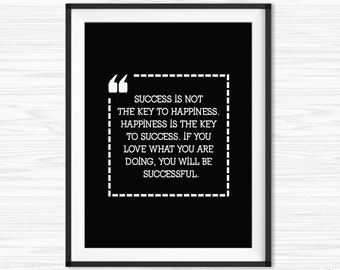 Cubicle Decor Printable Success Quotes Office Wall Art Do What You Love lnspirational Quotes Motivational Wall Decor Quote Office Decor
