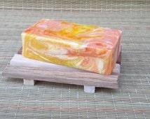 Mango Papaya Soap, Handmade Soap