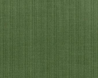 DESIGNER ANTIQUE STRIE Velvet Fabric 10 Yards Hedge Green