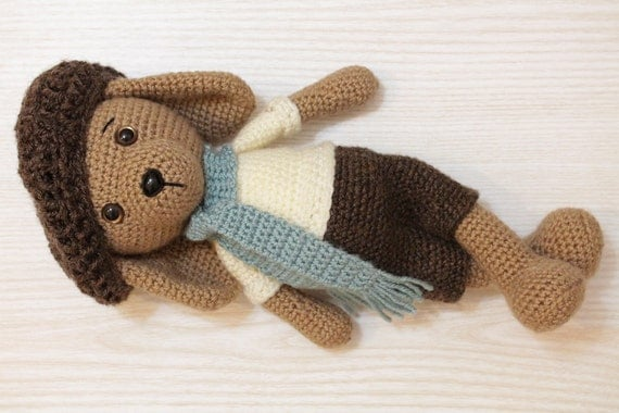Crochet PATTERN - Dog - Puppy - Amigurumi dog pattern ...