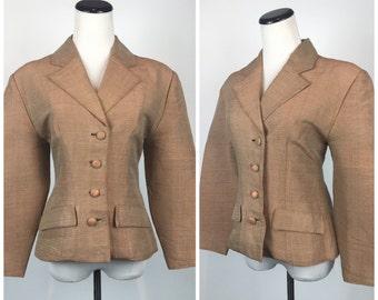 SALE SALE SALE Vintage 1950s  Suit Jacket Blazer Cardigan 50s 60s  Pinup Bolero M1258