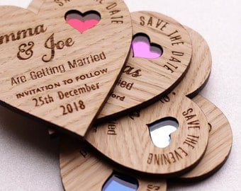 Rustic Save The Date Magnet, Wooden save the date rustic, Magnet Save the date card, Custom Save The Date, Wood Save the Dates