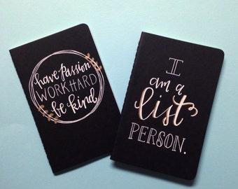 Motivational Mini Journal (set of 2)