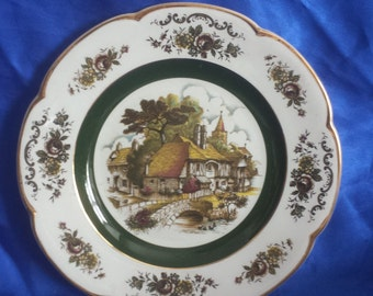 Decorative Wall Plate Ascot Service Plate by Wood & Sons England no 29