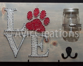 Dog String Art Board