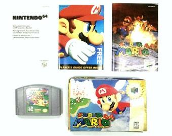Super Mario 64 complete in Box Nintendo 64 games Rare Games Consoles N64 Games Super Mario64