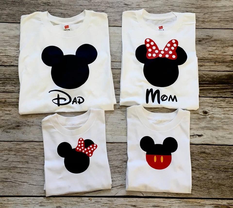 Disney Family Shirts I Matching Disney Shirts I Mickey and
