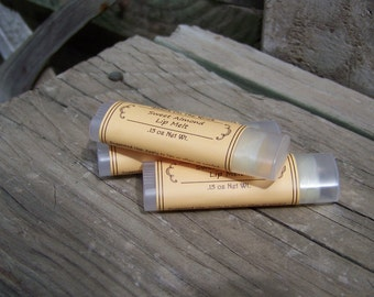 Lip Balm, Sweet Almond, Natural, Lip Melt, Lips, Chapstick, Lip Butter, Shackontherock
