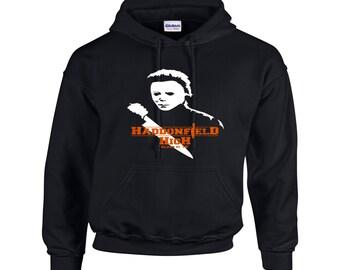 Michael Myers Haddonfield High Hoodie Hoody