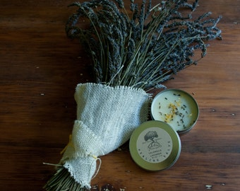 Calendula and Lavender Healing Salve