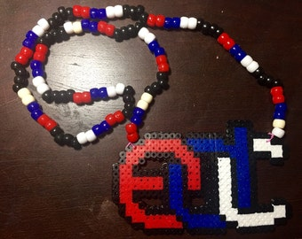 EDC perler necklace