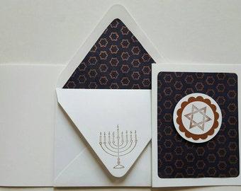Hanukkah Star of David - Box of 6