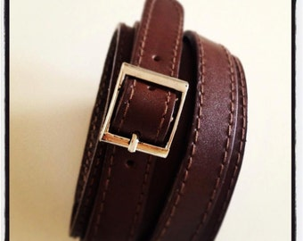 Men's Leather wrap around cuff