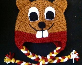 Goldy Gopher Hat