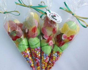 The Very Hungry Caterpillar Themed Candy/Sweet Cones