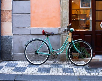 Prague Bicycle, Prague, Czech Republic, Bicycle, Facade, Europe, Photography, Fine Art Prints, Travel Photography, Wall Art