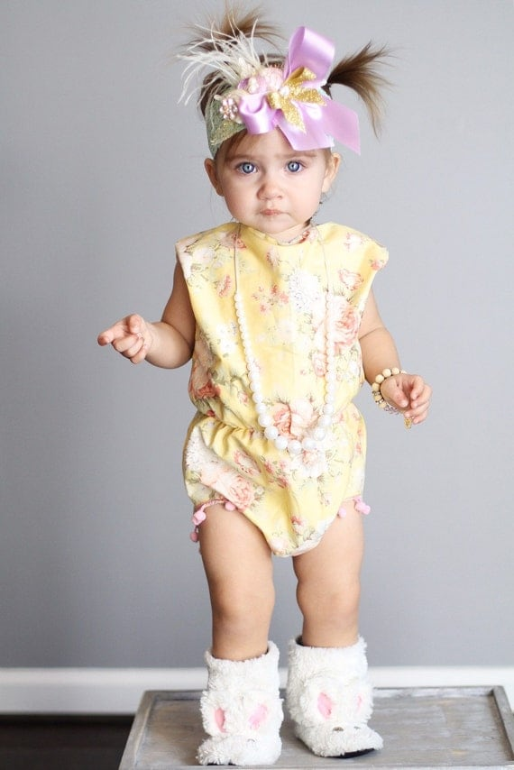 Find and save ideas about Designer baby clothes on Pinterest. | See more ideas about Boho baby clothes, Baby girl romper and Baby rompers.
