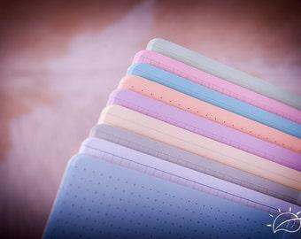 Paper Refill Midori Travelers Notebook  - Journal Refills - FauxDori Refills -  Notebook. - Choise of 28 shades