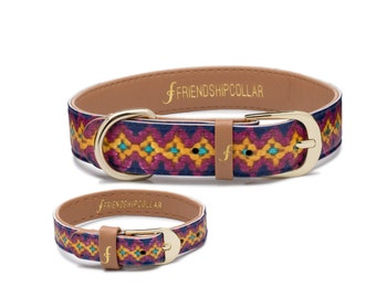 The Pampered Pooch - Dog FriendshipCollar and matching friendship bracelet