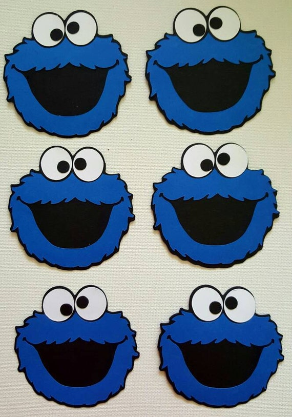 Witty image regarding cookie monster printable