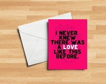Love Like This Before | Valentine's Day Card