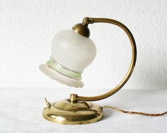 Vintage Lily Lamp Etsy