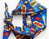 50s Pin Up 'POW' Pop Art Headscarf