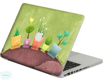 New plants decal mac stickers Macbook decal macbook stickers apple decal mac decal stickers