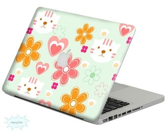 New flowers decal mac stickers Macbook decal macbook stickers apple decal mac decal stickers