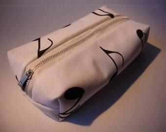 Musical Note Cloth Pencil Case
