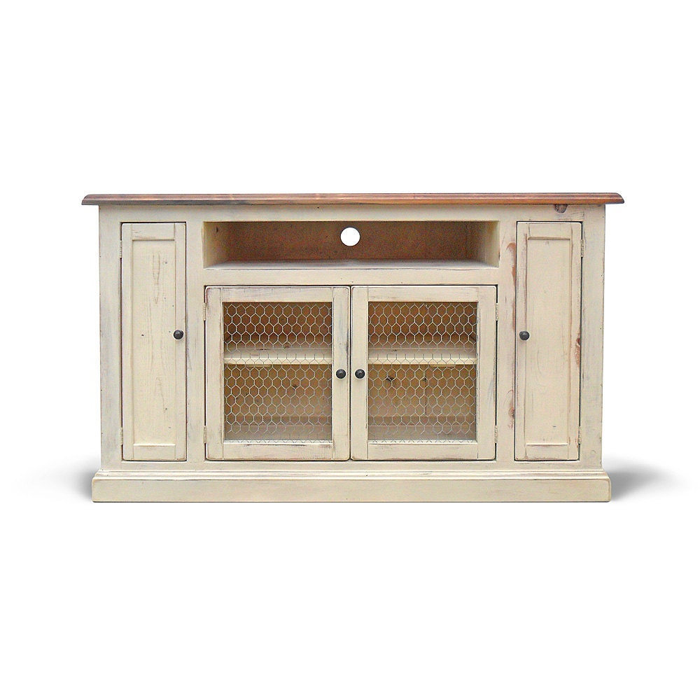 Media Console Tv Stand Reclaimed Wood By Vintagemillwerks