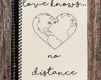 Love Knows No Distance - Long Distance Relationship - Long Distance Friendship - Across the Miles - Love Across the Miles