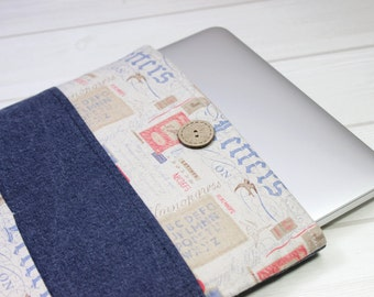 12 inch Macbook case, Macbook Air case, 12 inch laptop case, laptop sleeve 12, New Macbook sleeve, charcoal laptop case, unique Macbook case