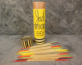 1937 Jack Sticks Pick Up Sticks