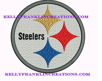 Steelers Embroidery 5 SIZES!