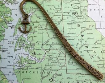 Anchor Bookmark - Mariner's Book Mark