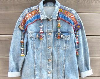 Festival Oversized Denim Jacket