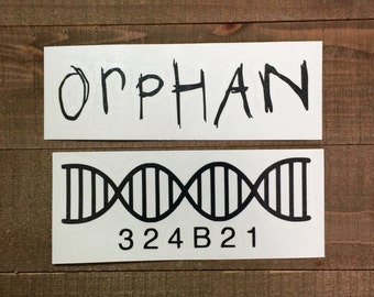 Orphan Black Decal